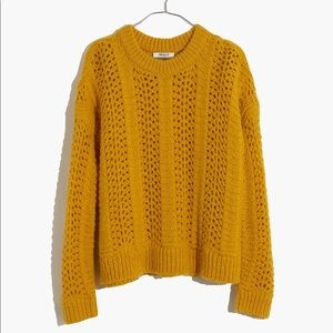 Madewell Pointelle Pullover Sweater